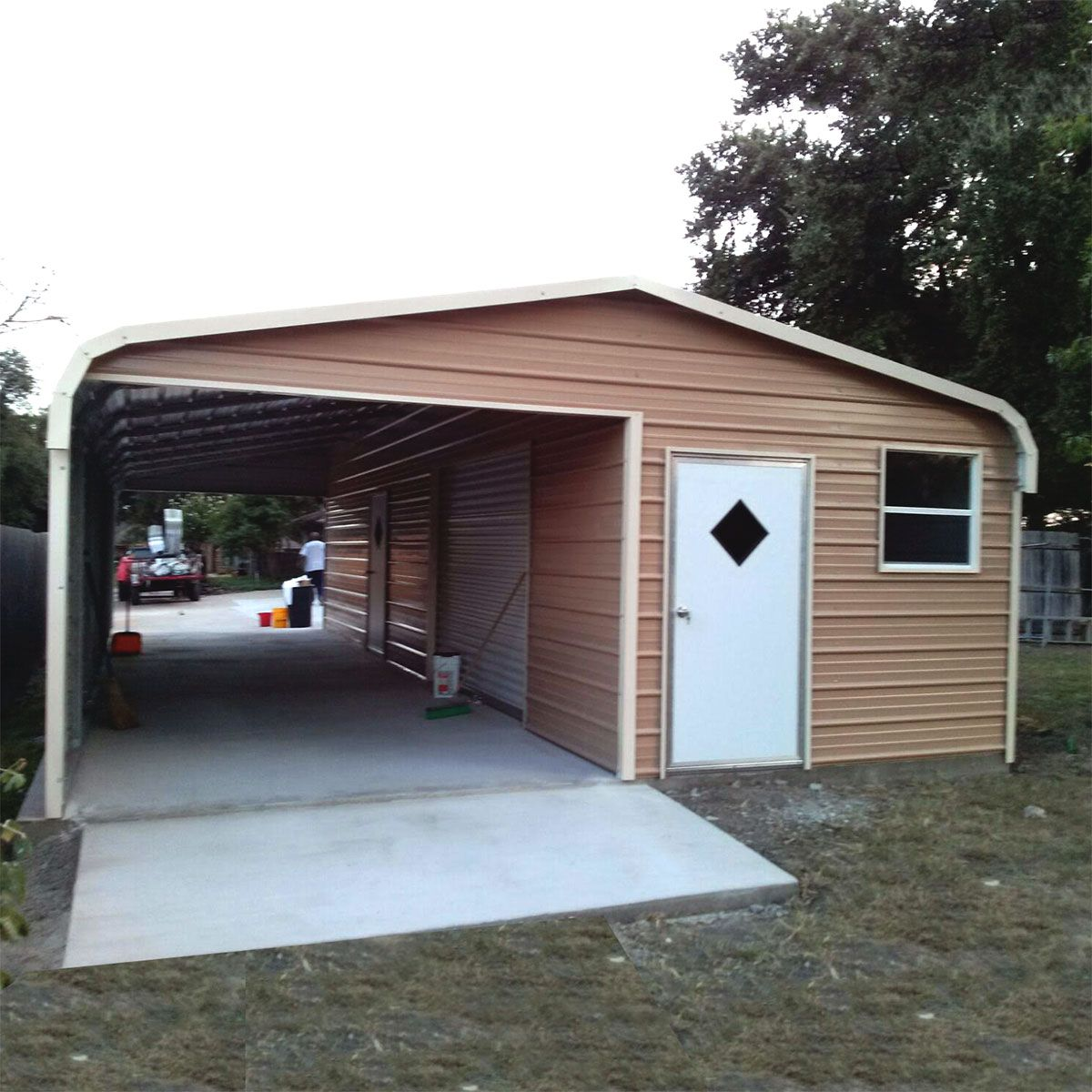 Shop Metal Carports Sheds And Garages Near Me Metal Carports Garage Design Metal Shed