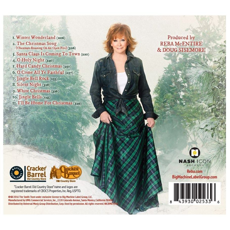 Reba McEntire - My Kind of Christmas CD | Collections | Rockin' R ...