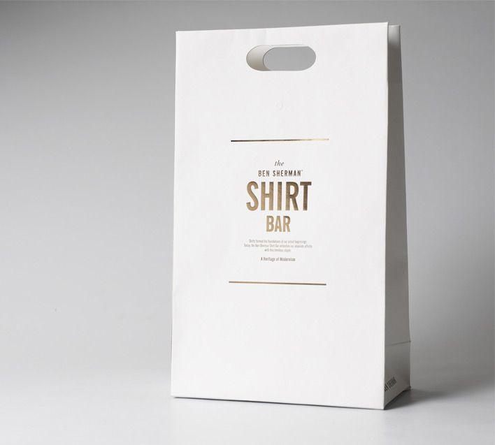 ben sherman shirt bar packaging.