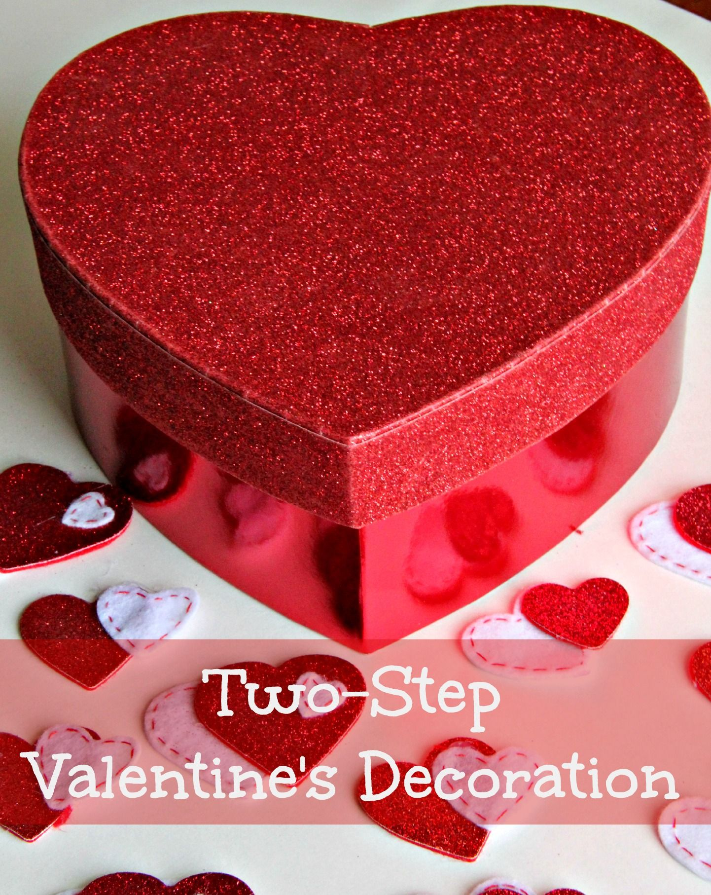 Ideas For Decorating Valentine Boxes Twostep Valentine's Decoration  Decoration Holidays And Diy Party