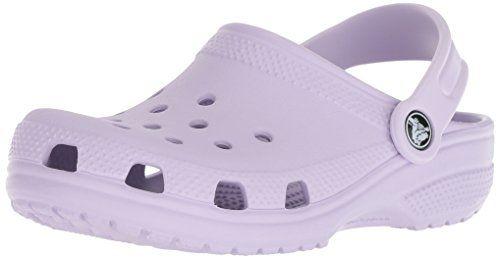 8244b395f291 Crocs Unisex-Kids Classic K Clog Lavender 1 M US Little Kid
