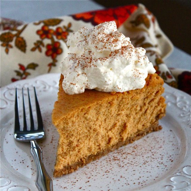 Pumpkin Goat Cheese Cheesecake   Recipe (With images)   Goat milk recipes, Milk recipes, Desserts