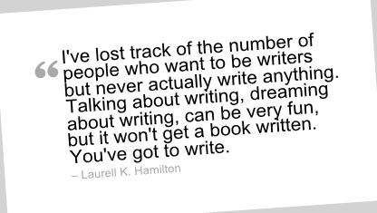 Writing Quotes by Laurell K. Hamilton - ProWritingAid