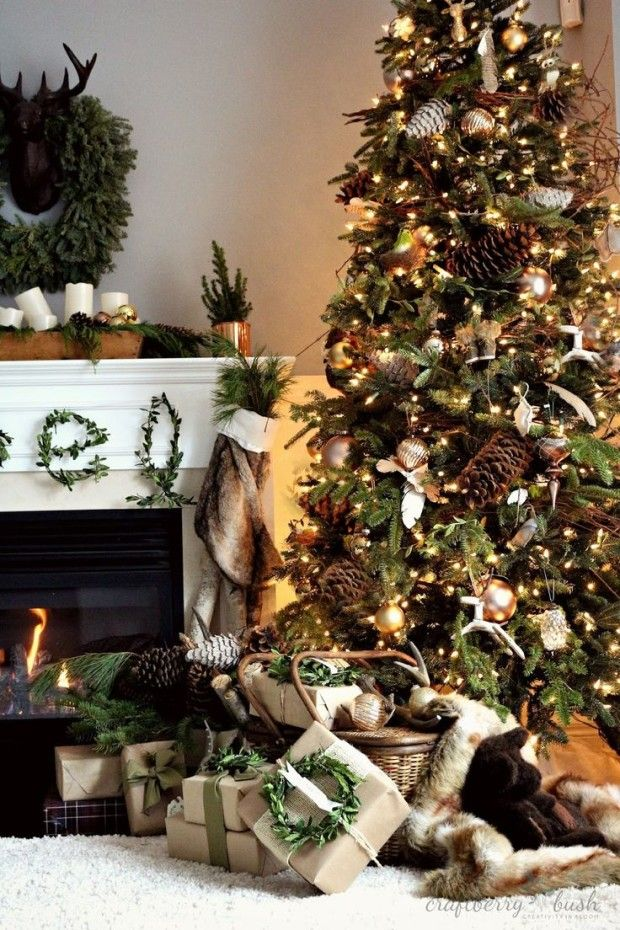 Holiday Makeover Announcement with Lowe\u0027s Christmas decor and Holidays