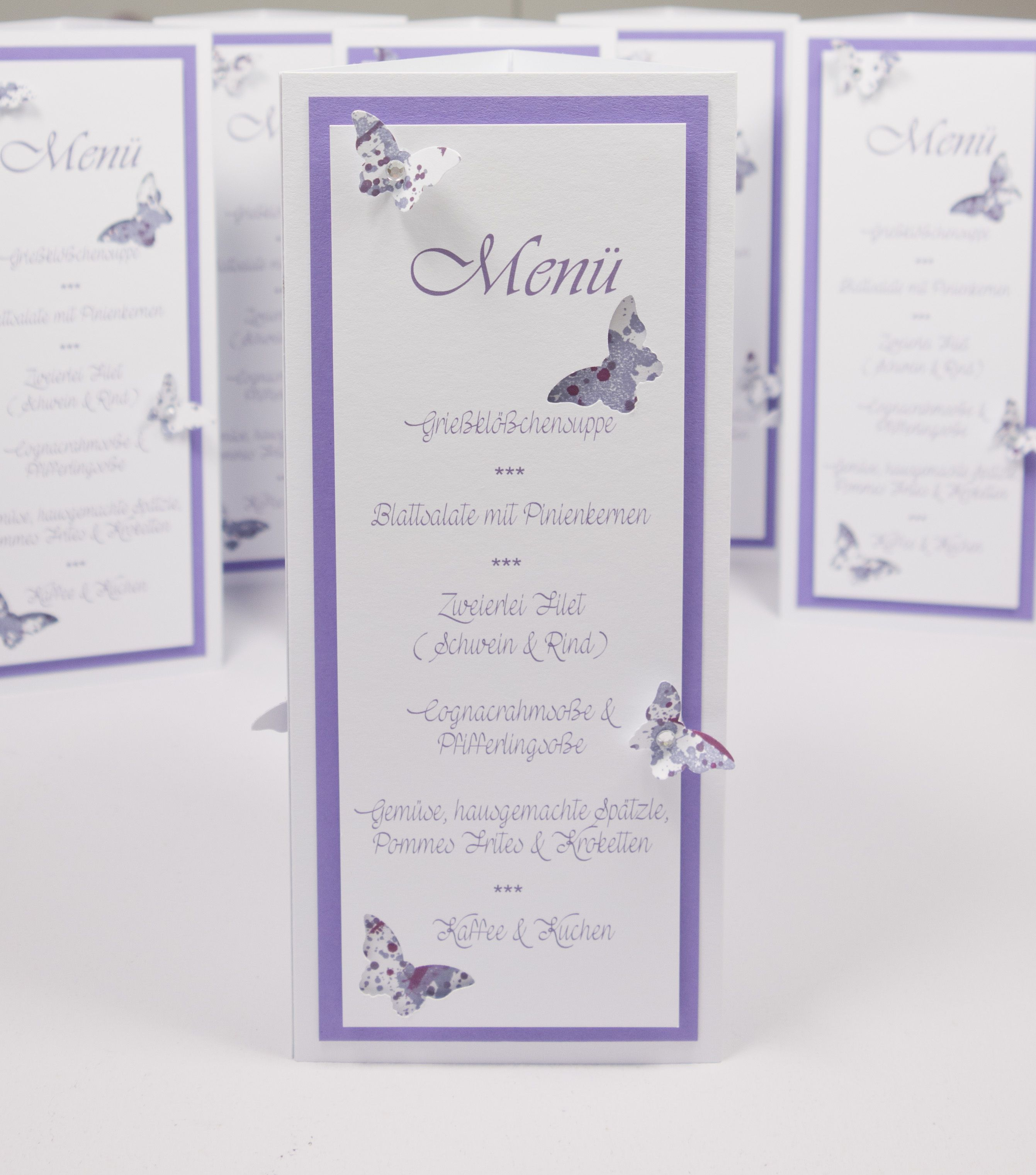 menu menucard Menü Menükarte Hochzeitsmenü Hochzeit wedding