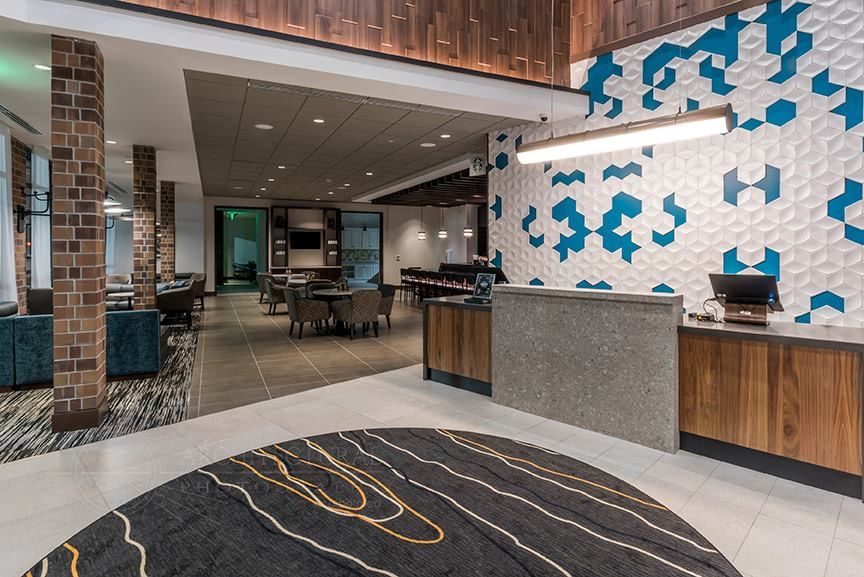 The Intricate Detail Of The Accent Walls Truly Make This Reception