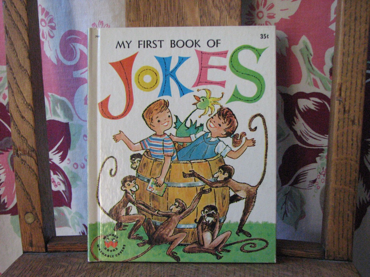Vintage My First Book of Jokes, copyright 1962, by