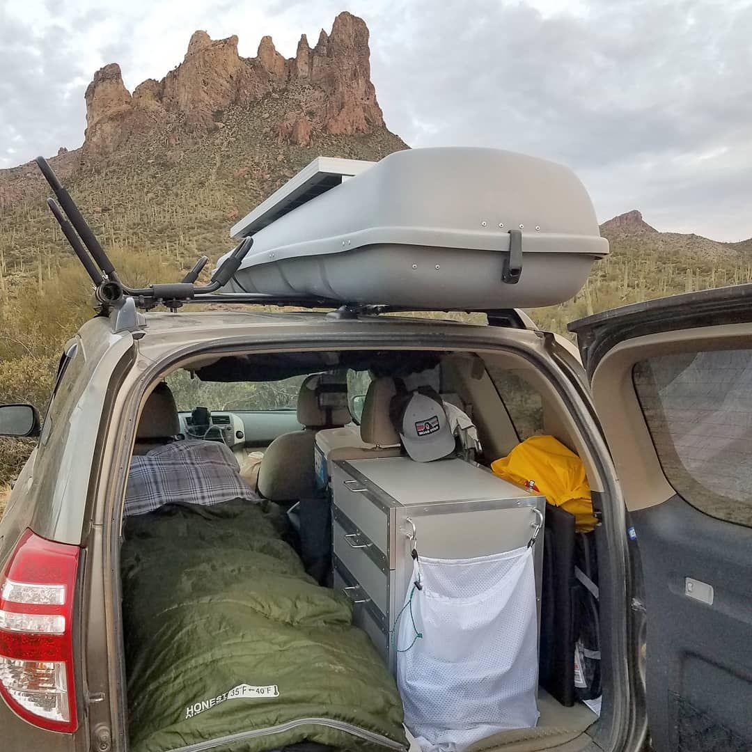 "SUV RVing on Instagram ""I just spent a few days hanging"