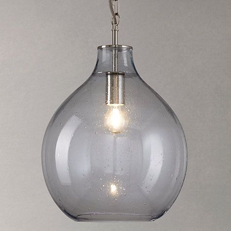 Croft collection selsey glass ceiling pendant light blue glass buy john lewis selsey glass ceiling pendant light blue online at johnlewis mozeypictures