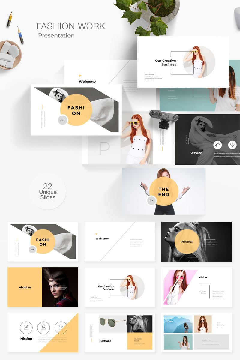 Fashion Presentation Powerpoint Template 78432 Powerpoint