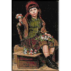 1402 . George Brown - Doriti un buchetel de flori?