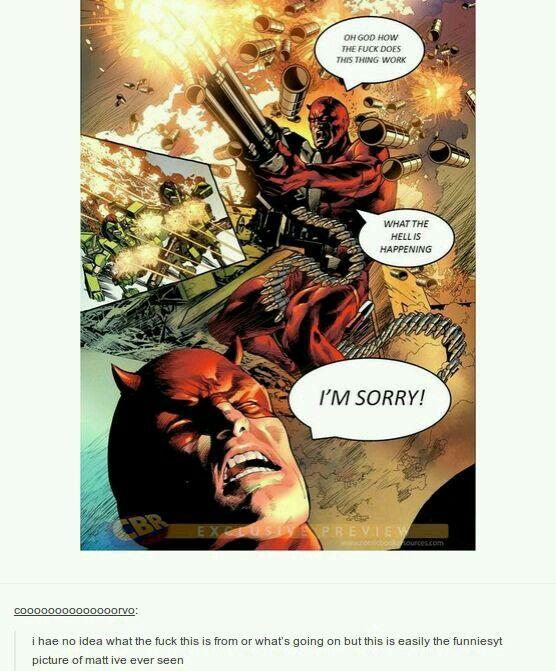 Daredevil. Oh dear.