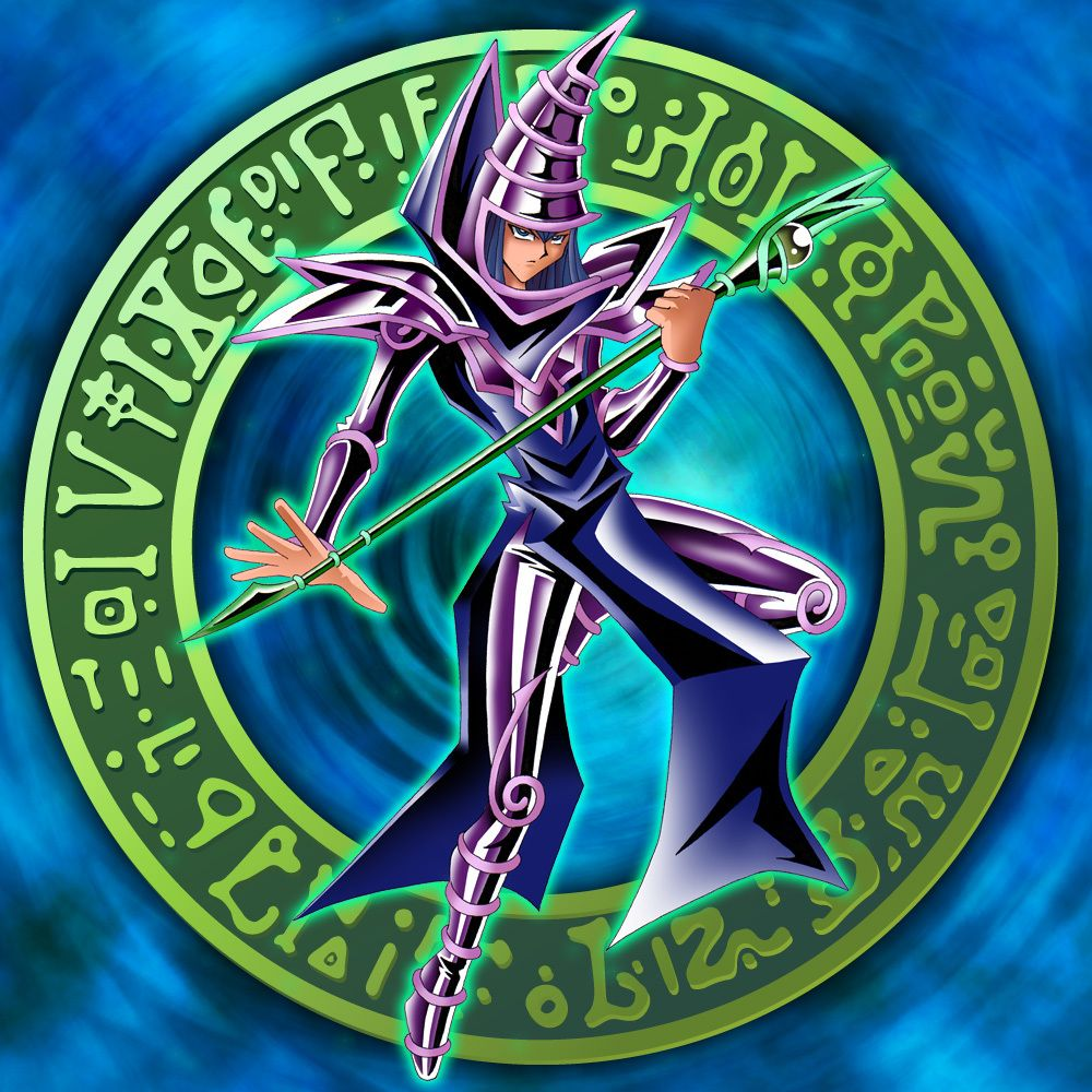 yugioh dark magician wallpaper food for thought pinterest