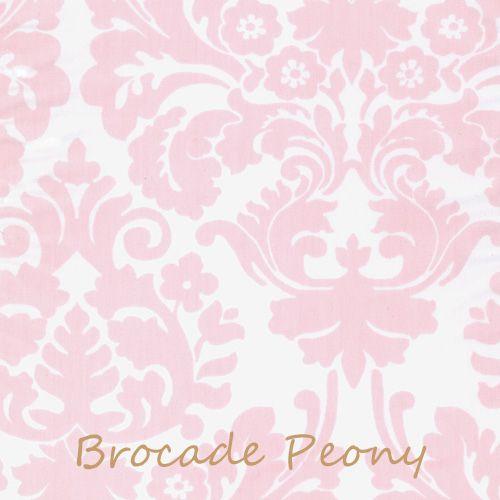 Brocade Peony Duvet Cover