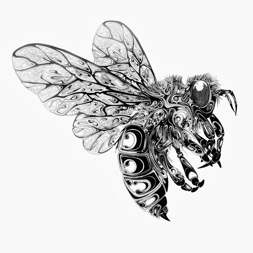 Images For > Steampunk Animal Sketches | bees, bugs, etc ...