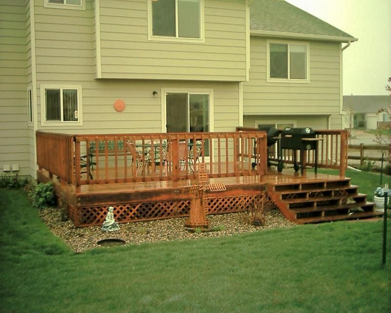 Pictures Of Decks And Patios | Home Composite Decks Wood Decks Vinyl Fencing  Wood Fencing Other .