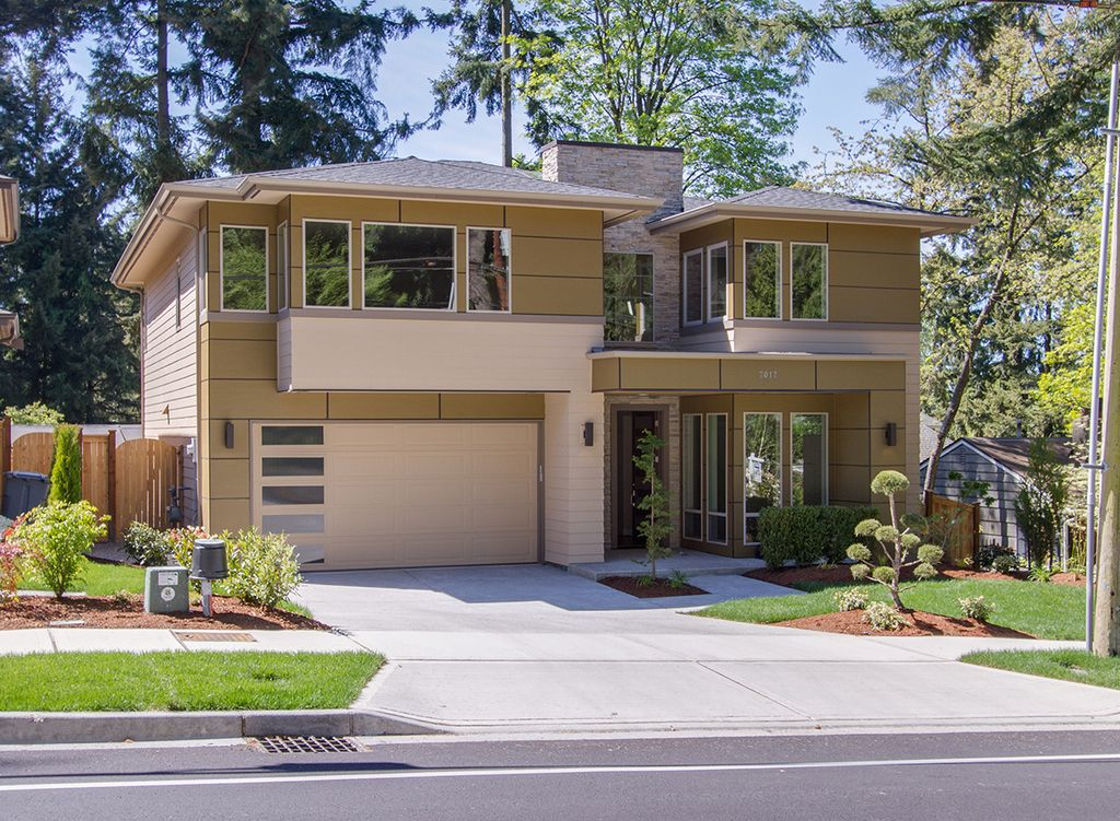 Modern Style House Plan - 4 Beds 3 Baths 3105 Sq/Ft Plan #132-225 ...