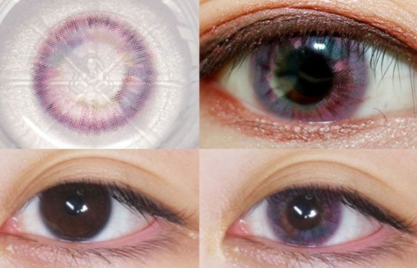 Color Scandal 19 Pink Review2 Contact Lenses For Brown Eyes Contact Lenses Colored Circle Lenses