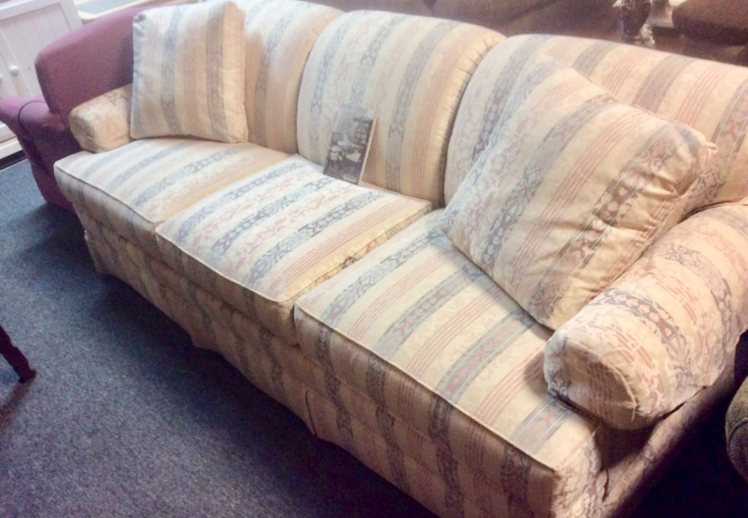 Terrific Thomasville Sofa Great Shape Great Buy On This Very Gently Onthecornerstone Fun Painted Chair Ideas Images Onthecornerstoneorg