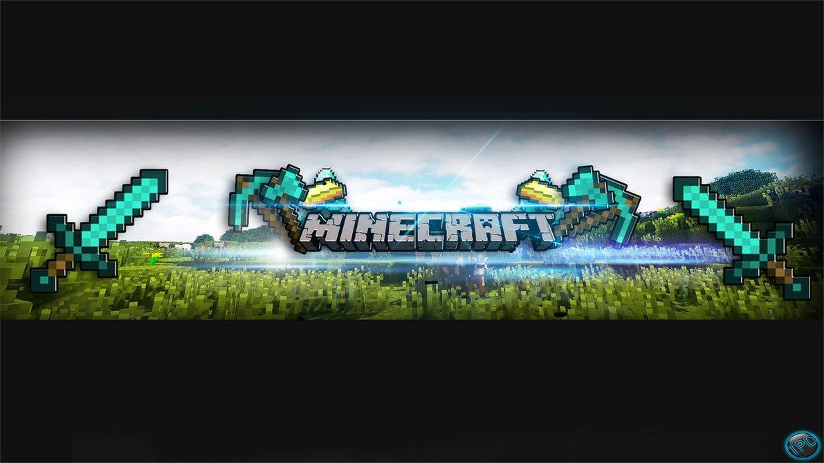Kết quả hình ảnh cho banner youtube minecraft
