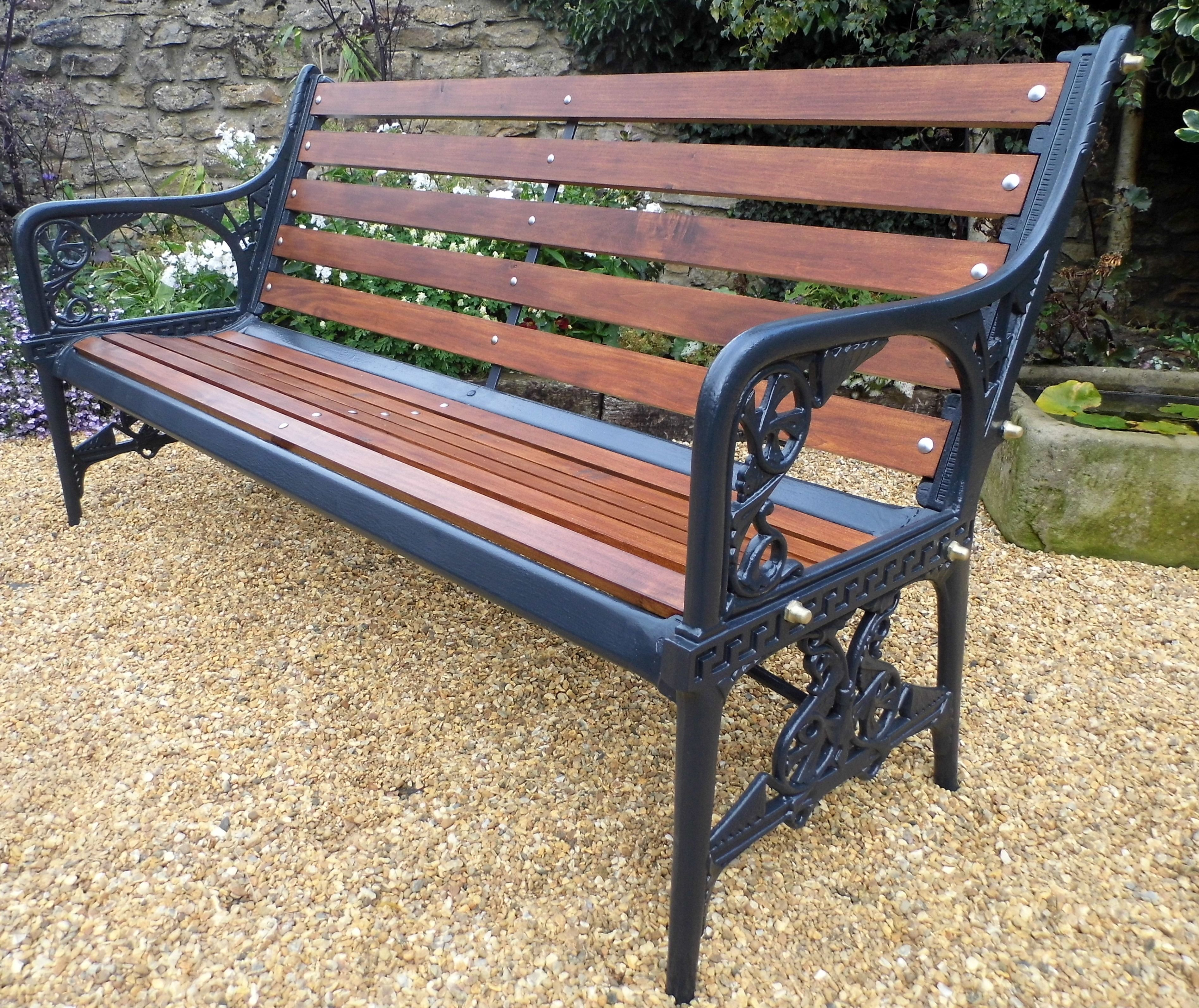 Coalbrookdale Waterplant Bench Fully Restored Just Out