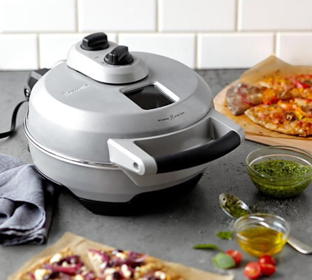 Breville Crispy Crust Pizza Maker Brings All The Pizzerias Home