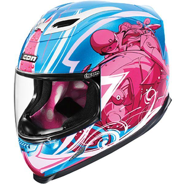 2009 Icon Womens Airframe Siren Helmet