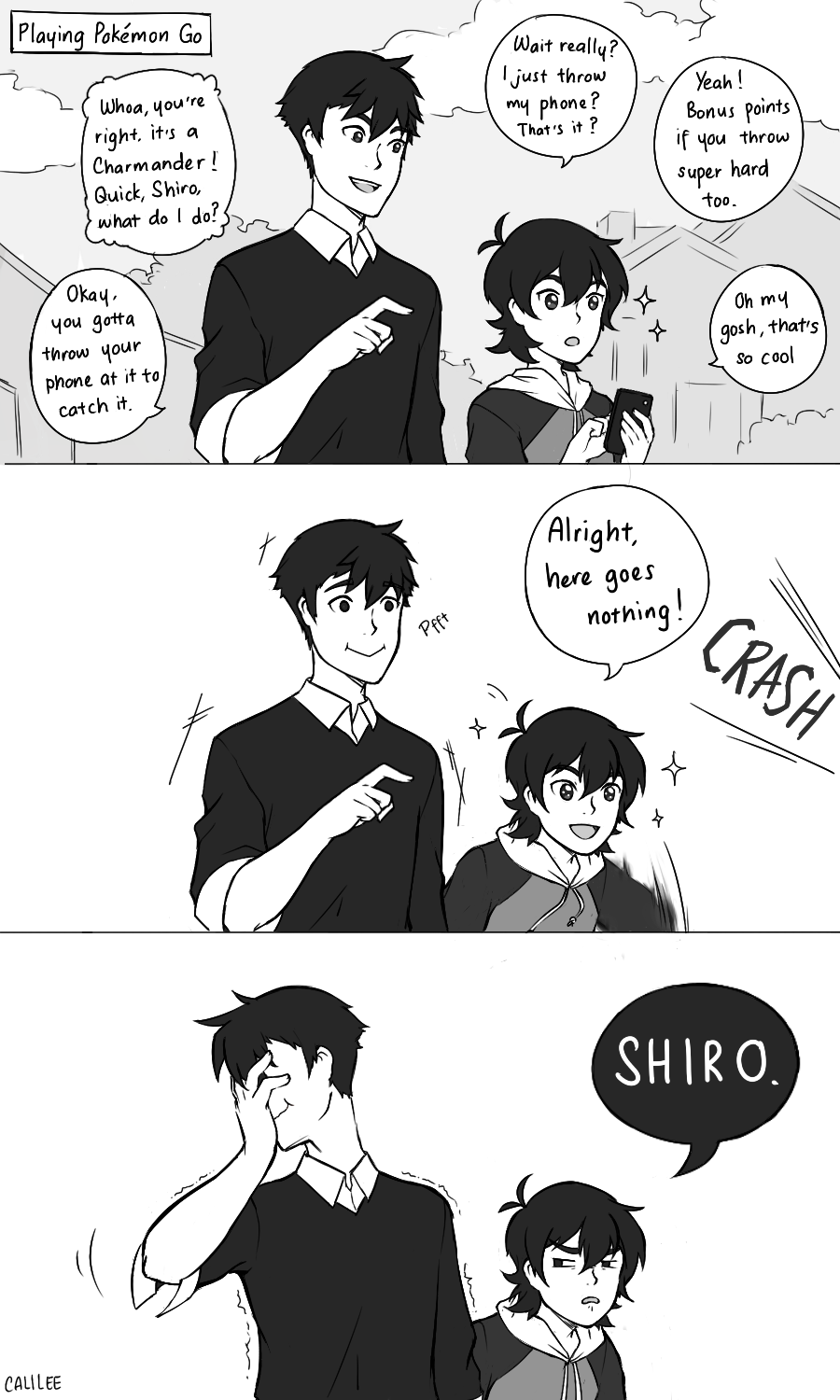 Am I The Only One Who Thinks That Shiro And Keith From -1976