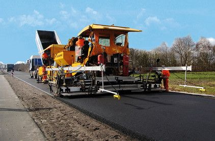 MOBA - Grade control for perfect asphalt layers    MOBA