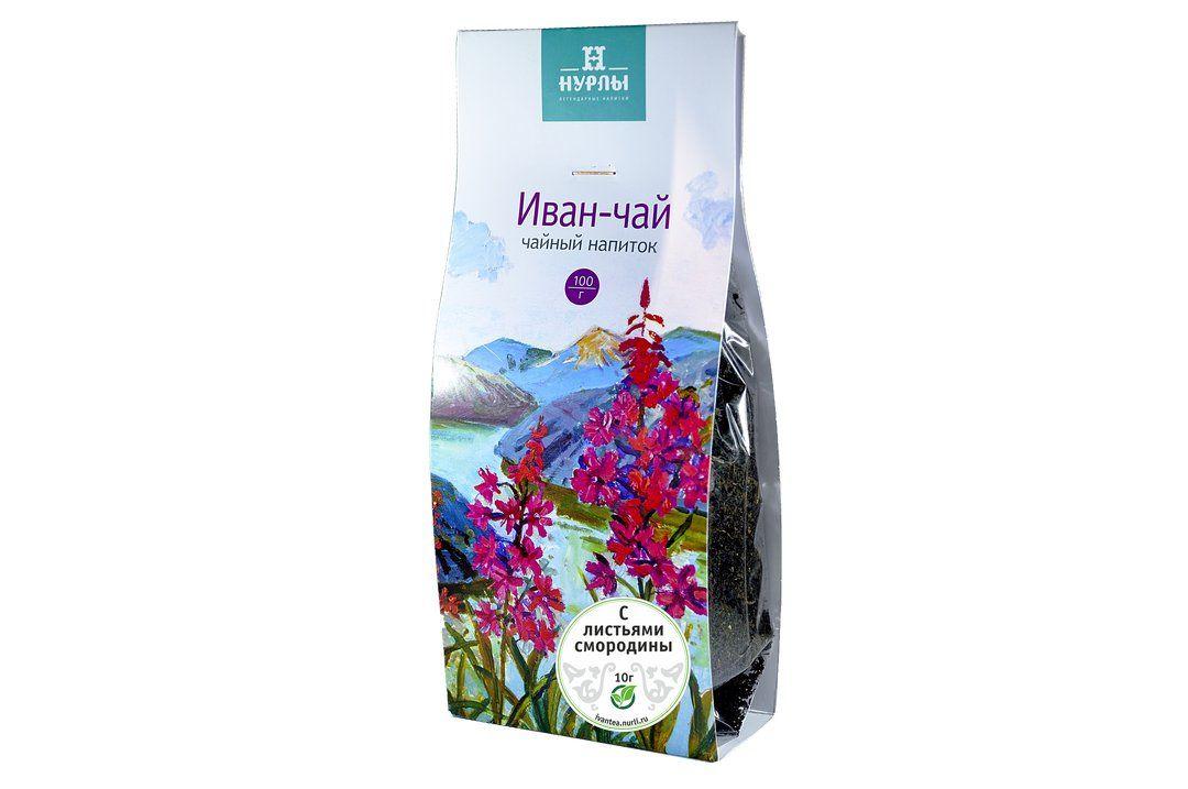иван чай с листьями