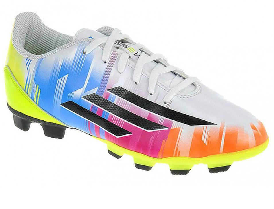 Adidas Football Boots Trainers F5 TRX FG Messi Kids Boys Girls Sizes 10 to  5 NEW 0c52c1b8e