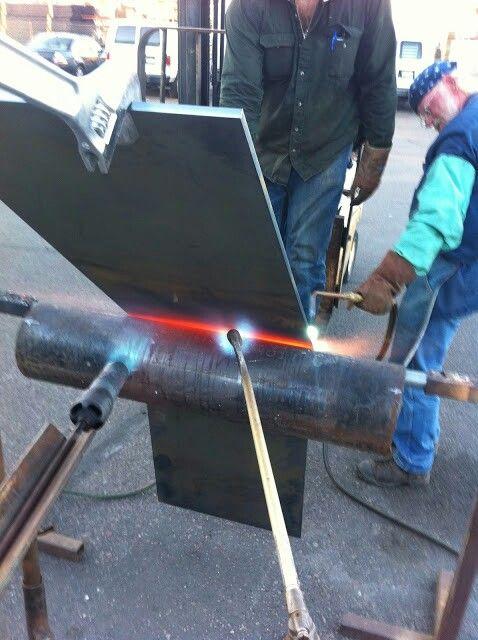 Heating And Bending 1 2 Steel Plate For Contemporary Steel Vanity Taller Herramientas Herramientas