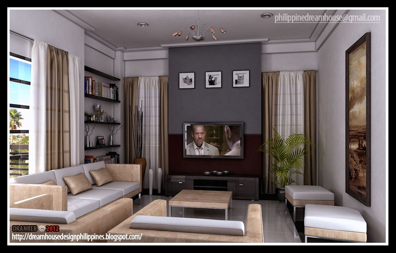 Contemporary Design Living Room Impressive Simple Filipino Living Room Designs  Google Search  Livingrooms Design Ideas