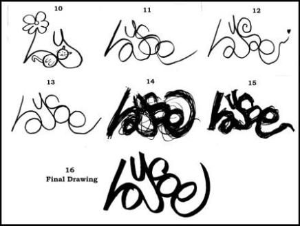 Learn how to create one's own graffiti tag. The