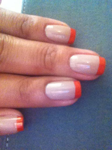 Nude & Orange
