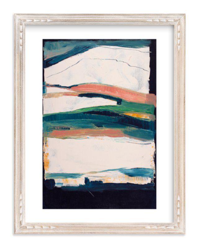 Melting Glacier Art Print Art Art Prints Modern Art Prints