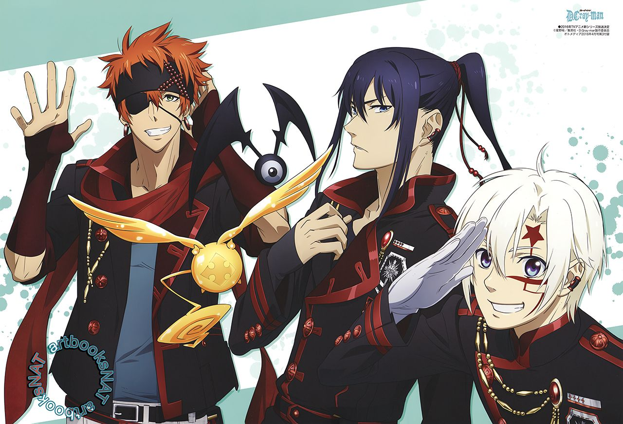 D Gray Man Anime Characters : D gray man anime new trailer and voice cast by