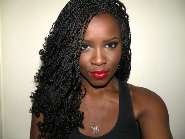 I'm pretty sure Senegalese twists with the ends curled will be my next hairstyle.