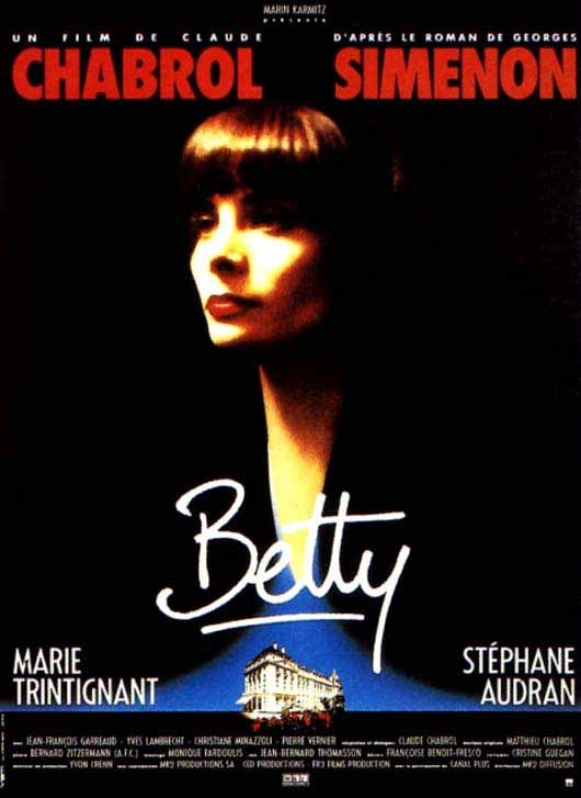 Betty 1992 Claude Chabrol Marie Trintignant Cinema Francais Georges Simenon Films Complets