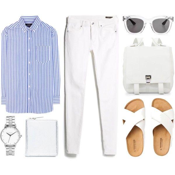#mango #proenzaschouler #white #simple