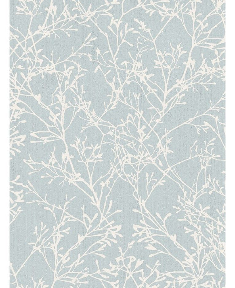 Tranquillity Tree Wallpaper Grey And Silver Fine Decor
