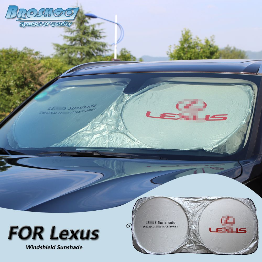 BROSHOO Car Windscreen Sunshade Front Window Sun Shade Windshield Visor  Cover For Lexus RX400H IS250 RX300 bd48ff9f2ff