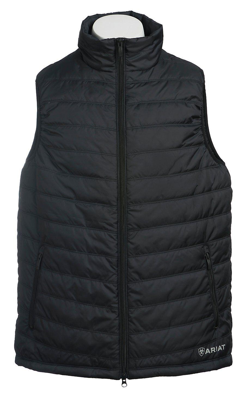 118532e736a04 Ariat Men s Black Terrace Down Vest
