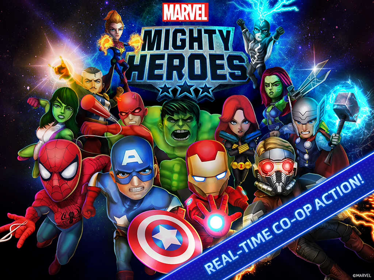 Marvel Mighty Heroes App Marvel entertainment, Marvel