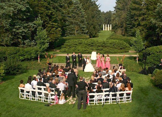 Wedding Rustic Venues Illinois The Morton Arboretum