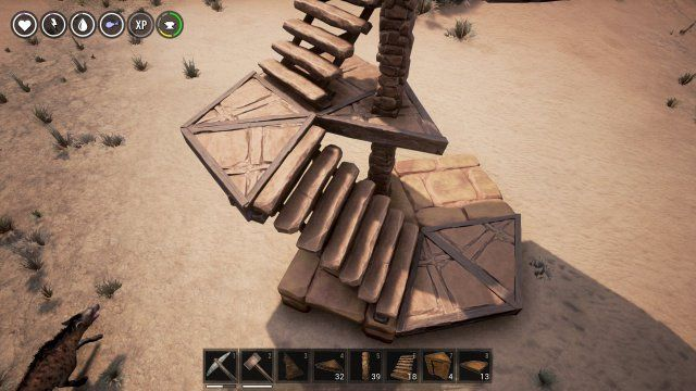 Conan Exiles - Circles And Spiral Stairs In 2020