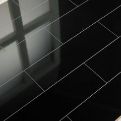 Black Gloss Floor Google Search