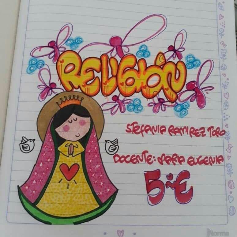 32 + dibujos para decorar libretas de niñas