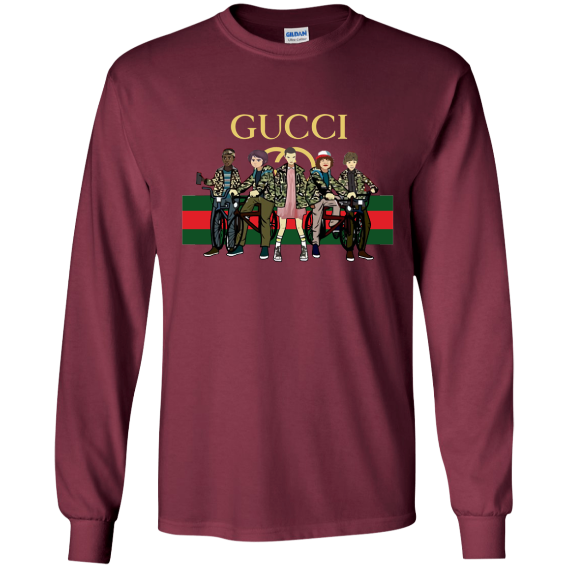 3f128aaf Gucci Stranger Things Best Selling T-Shirt | Products | Shirts ...