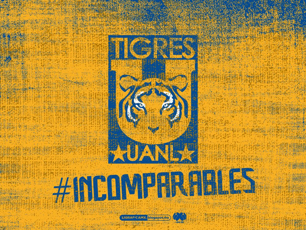 Wallpaper Fabric • LigraficaMX CLUB TIGRES Tigres uanl
